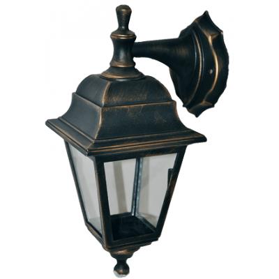 Градински фенер Бари Ретро долен или горен носач прозрачно стъкло