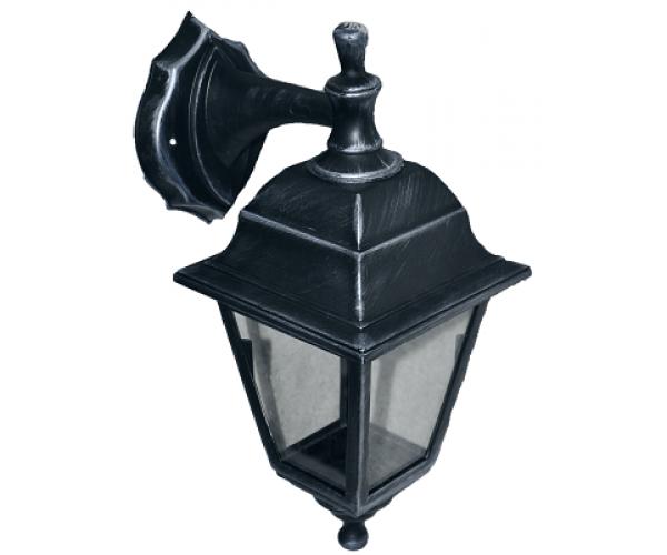 Градински фенер Silver Retro  долен или горен носач прозрачно стъкло