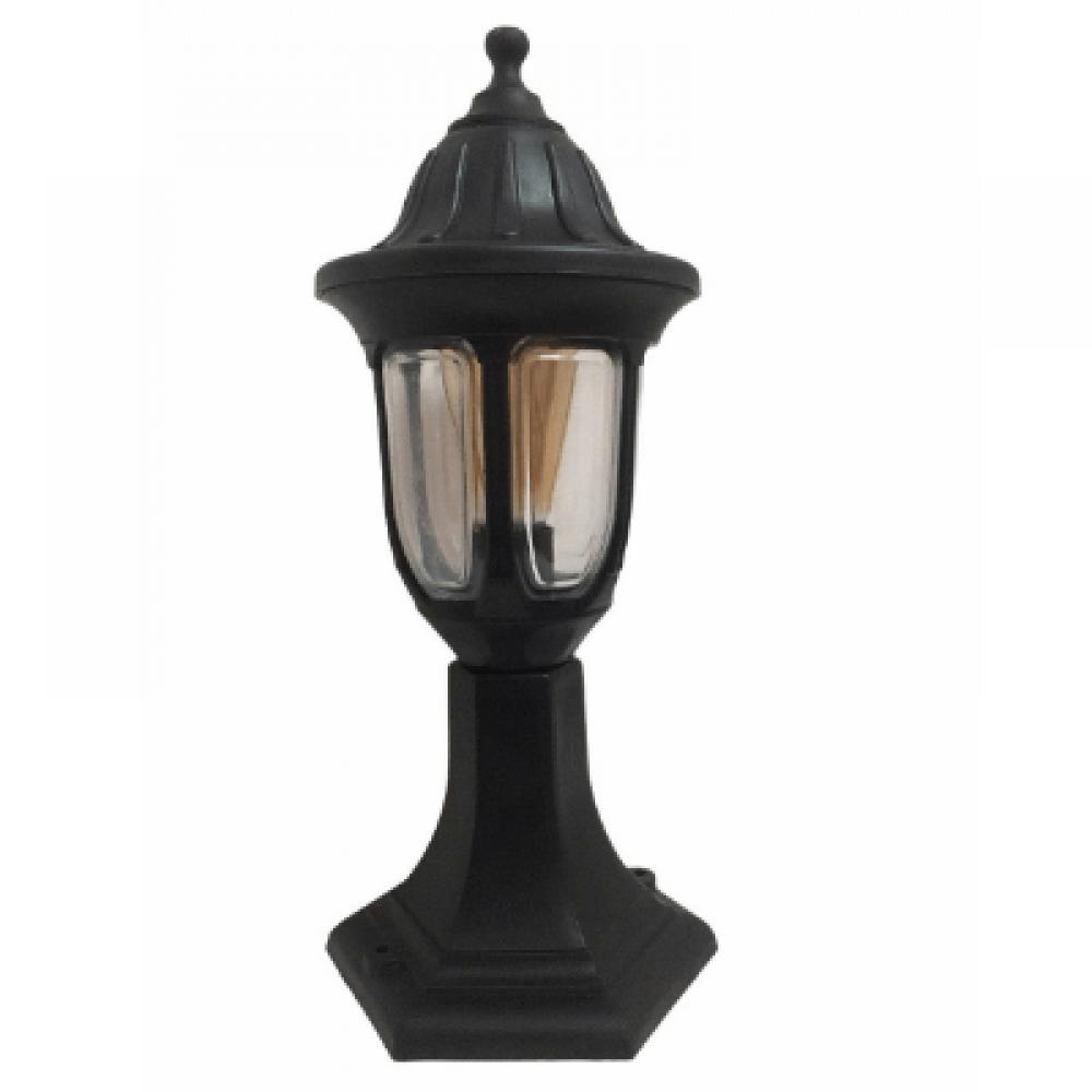 Градински фенер Фараон черен  стоящ 40 см