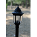 Градински фенер Фараон стоящ антивандал  77 см черен