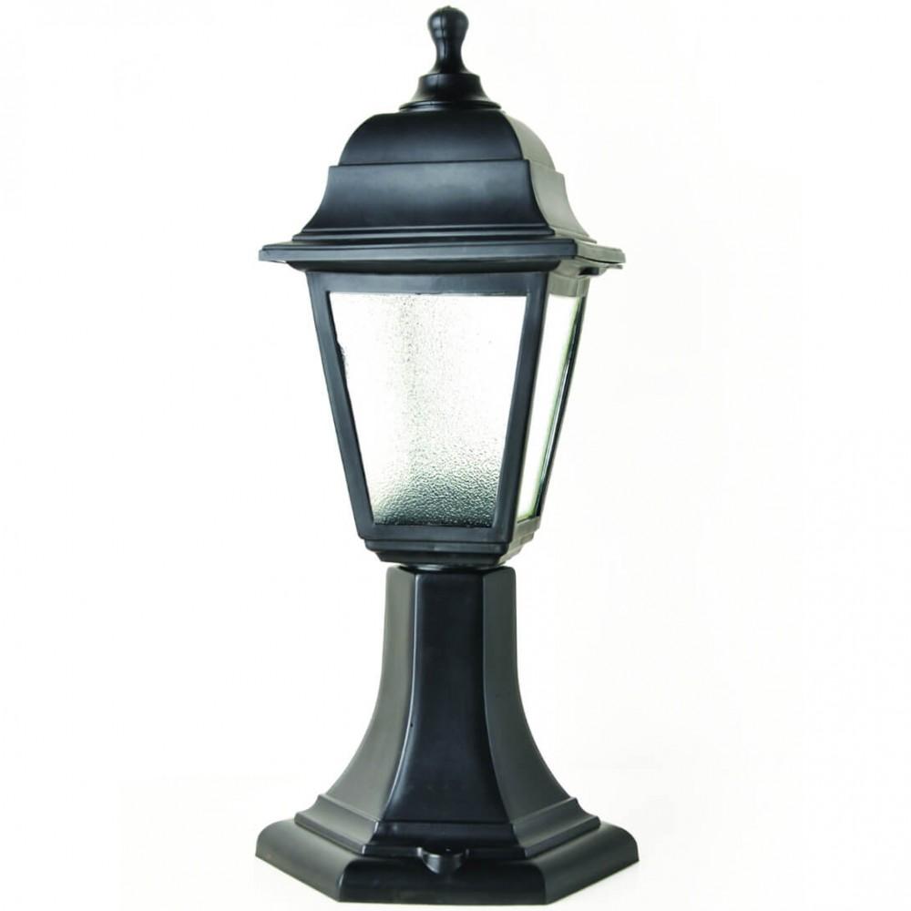 Градински фенер Бри Ретро стоящ 40 см матирано стъкло