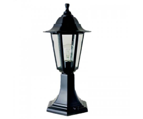 Градински фенер Бри Класик стоящ 40 см прозрачно стъкло