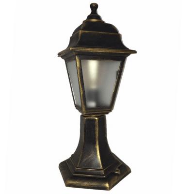 Градински фенер Бари Ретро стоящ матирано стъкло 40 cm