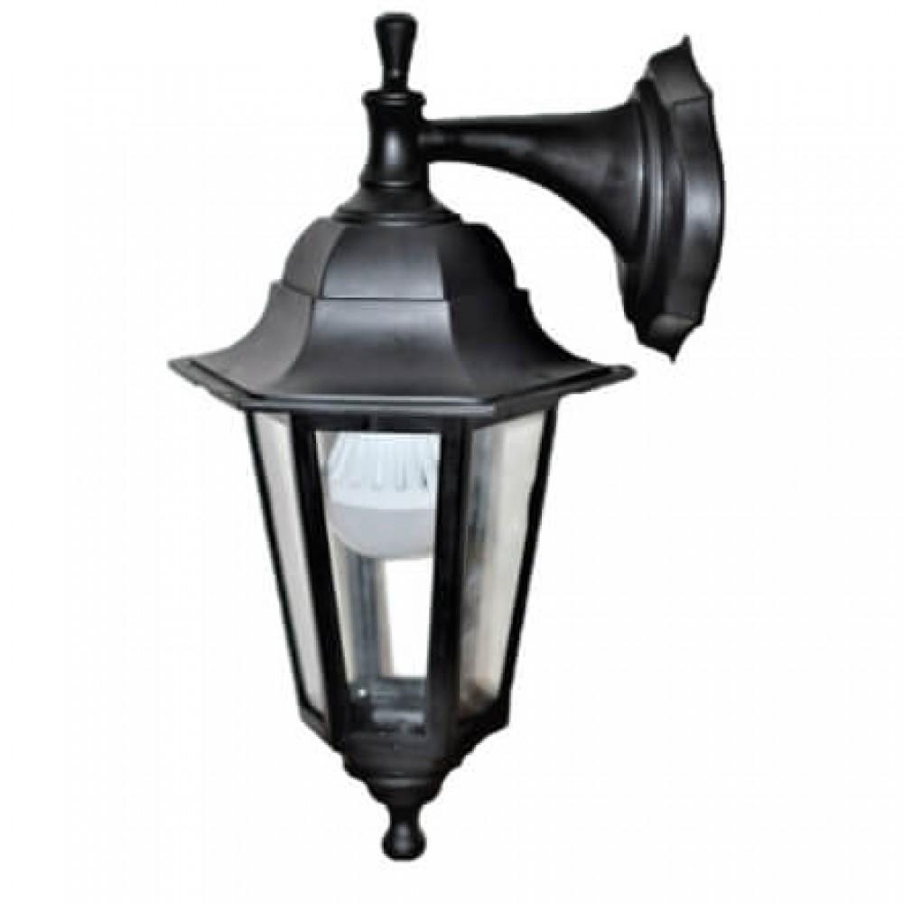 Градински фенер Бри Класик долен и горен носач прозрачно стъкло