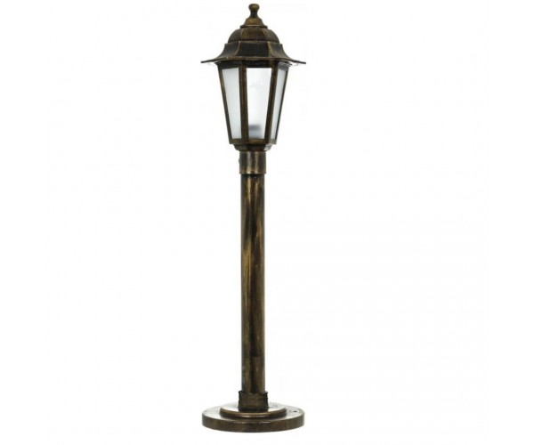 Градински фенер Бари Класик стоящ 77 cm с матирано стъкло