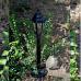 Градински фенер Бри Класик стоящ 77 см прозрачно стъкло